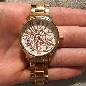 Betsy Johnson Rose Gold Watch